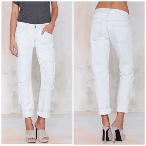 Nasty Gal Patch it jeans.